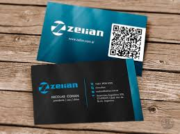 Business Card With Qr Code Creative Business Card Design With Qr Code By Pabloixx On Envato