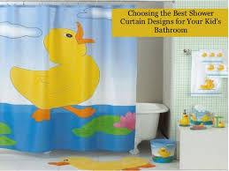 Kids Bathroom Shower Curtain Choosing The Best Shower Curtain Designs For Your Kid U0027s Bathroom