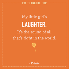 thanksgiving announcement kristin is thankful for her little u0027s laughter thanksgiving