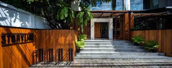 storyline cafe by junsekino architect and design