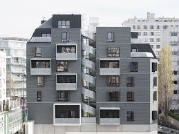 a street block en miniature apartment house in paris detail