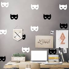 online buy wholesale diy batman mask from china diy batman mask wall sticker baby batman mask wall decal diy decorating easy wall stickers kids room children decors