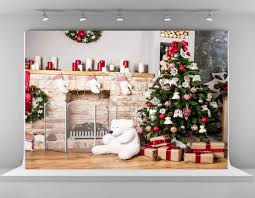 2017 kate christmas tree background for photography gray wood