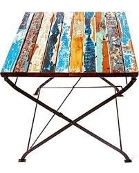 Reclaimed Wood Bistro Table Special Ecochic Lifestyles Teak For Two Reclaimed Wood