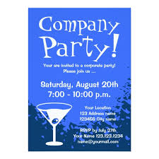 corporate invitations company invites zazzle