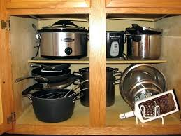 kitchen storage ideas for pots and pans pots and pans rack cabinet musicalpassion club