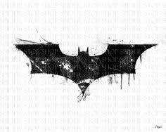 dark knight logo with bats by berabaskurt tweaked by gn0xious