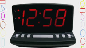 Ivation Clock by Geneva 4584e Elgin Electric Alarm Time Clock Video Dailymotion