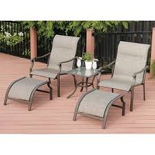 Patio Chair And Ottoman Set 21 Best Patio Furniture Images On Pinterest Patios