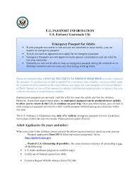 Arkansas emergency travel document images Emergency passport for adults u s embassy in guatemala jpg