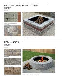 Unilock Fire Pit by Buy Unilock Fire Pit Ring Insert South Shore Landscape Supply