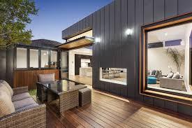 australian home interiors contemporary interiors outdoor spaces defy deco facade