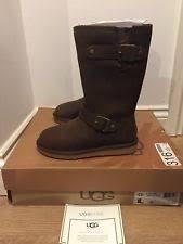 ugg s kensington boots toast ugg australia kensington ll toast brown moto boots ד size 5 ebay