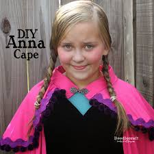 doodlecraft princess anna pink cape