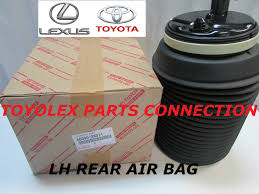 lexus rx300 air suspension parts new lexus gx470 toyota 4runner rear suspension lh pneumatic air