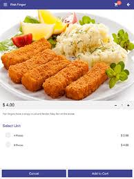 restaurant menu app ezee i menu for table top tablet ordering