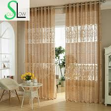 Yellow Striped Curtains Online Buy Wholesale Striped Curtains Yellow From China Striped