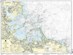 Boston Maps by Amazon Com 13270 Boston Harbor Fishing Charts And Maps