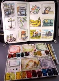 hudson valley painter blog archive a day of thumbnail sketches