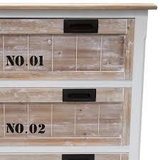 Schlafzimmer Kommode Holz Shabby Chic Kommode Cualcacino Mit Schubladen Wohnen De
