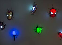 The Avengers Superhero 3d Deco Lights Homemydesign Pinterest
