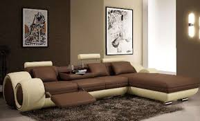 living color schemes for living room with brown sofa f49