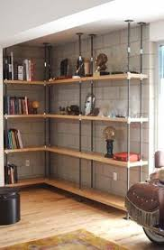 Basement Shelves Woodworking Plans by Dawn U0027s House Diy Library Shelving House Room And Shelves