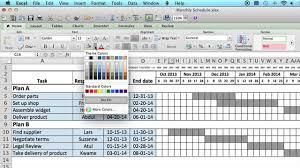 4 monthly schedule template excel procedure sample month 2015 ex