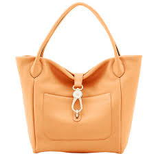 Apricot Color Dooney U0026 Bourke Belvedere Logo Lock Tote