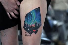 aurora borealis tattoo free here