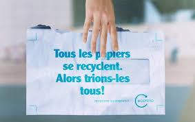 recyclage papier de bureau tous les papiers se trient et se recyclent partout ecofolio