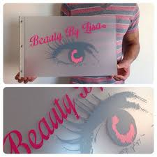 makeup artistry books custom makeup artist portfolio book with vinyl decal treatment on