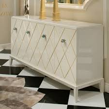 Sideboard Modern High End Modern Italian Marble Topped Sideboard Juliettes