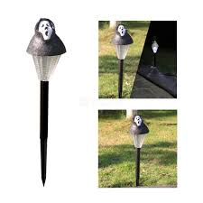 halloween ghost pumpkin solar powered garden light led for path lawn