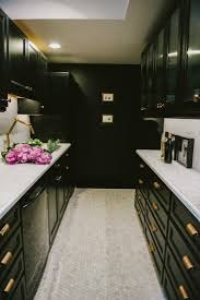 glamorous galley kitchen designs with breakfast bar images design