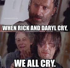 Walking Dead Meme Rick Crying - lovely the 30 best walking dead memes wallpaper site wallpaper site
