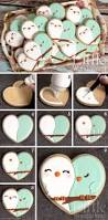 love birds cookies from a heart shaped cookie cutter u0026 flood