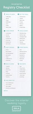 wedding registry list best 25 wedding registry checklist ideas on wedding