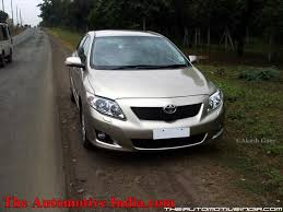 toyota corolla altis 2008 review toyota corolla altis diesel road test review