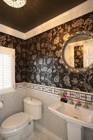 bathroom with wallpaper ideas bathroom decor new best bathroom wallpaper ideas vinyl wallpaper