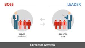 manager vs leader powerpoint template slidemodel