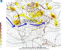 Jet Stream Forecast Map Jet Stream Is Way Up To The North U2013 Weather 2020