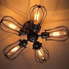ceiling fan ideas enchanting ceiling fan with edison lights