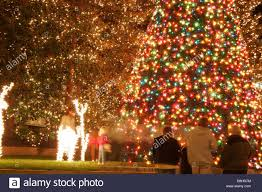 christmas lights richmond va christmas lights in downtown richmond virginia stock photo