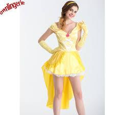 Belle Halloween Costume Adults Cheap Belle Costume Aliexpress