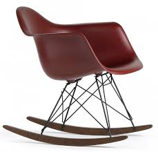 One Piece Rocking Chair Cushions Eames Plastic Arm Chair Rar Rocking Chair Vitra