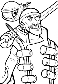coloring download team fortress 2 coloring pages team fortress 2