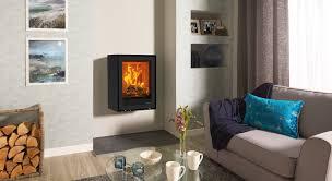 wood burning wall freestanding elise 540t wall mounted wood burning and multi fuel