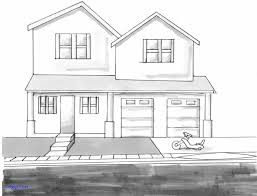 fresh building design drawing easy house drawing home
