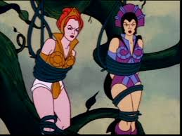 Teela And Evil Lyn - teela evil lyn he man and the masters of the universe evil seed